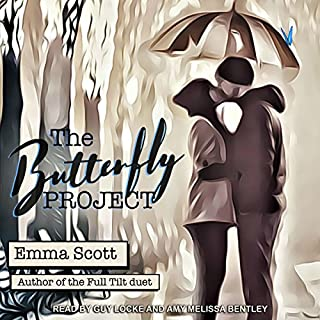 The Butterfly Project audiobook cover art