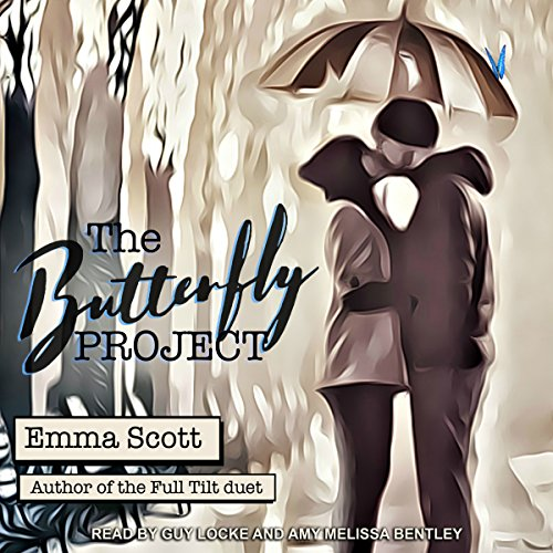 The Butterfly Project                   By:                                                                                                                                 Emma Scott                               Narrated by:                                                                                                                                 Amy Melissa Bentley,                                                                                        Guy Locke                      Length: 9 hrs and 48 mins     4 ratings     Overall 3.5