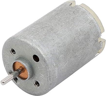 f/ür DIY Spielzeug sourcing map Magnetischer Motor DC 6 V 12500 RPM 2mm Wellendurchm