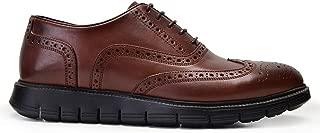 2469-GLA GLADWİNEXL-Antik Kahve 202 Nevzat Onay Kahverengi Günlük Deri Erkek Ayakkabı