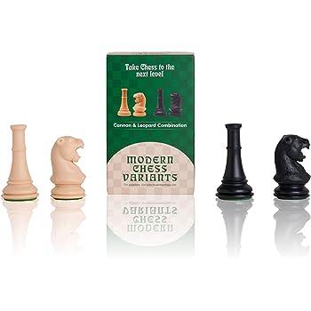 Léopard & Canon (Leopard & Cannon), Musketeer Chess Kit, 4 Pièces d'echecs,