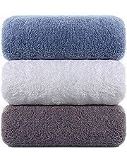 LEEPWEI タオル 綿100% 人気 柔らか肌触り ふんわり 瞬間吸水 速乾 抗菌防臭 家庭用、ホテル、スポーツなどに最適