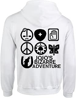 Happy Yohe JoJo Bizarre Adventure Kujo Jotaro Thin Hoodie Coat