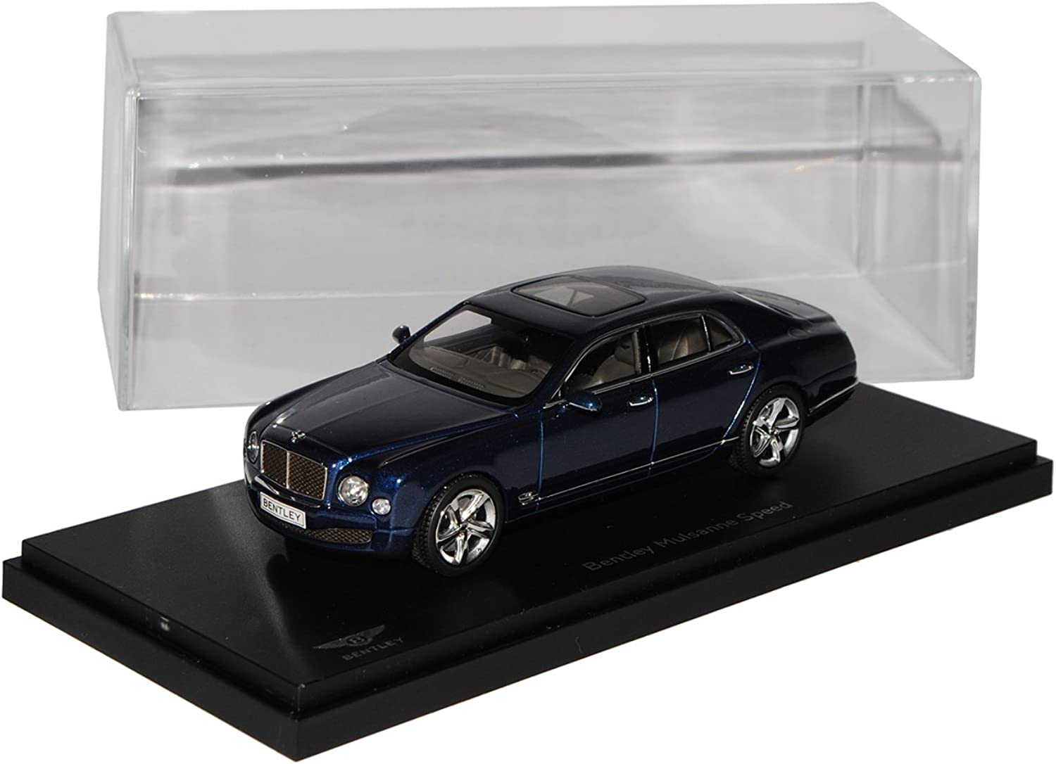 Bentley Mulsanne Speed Marlin Blau Ab 2013 1 43 Kyosho Modell Auto