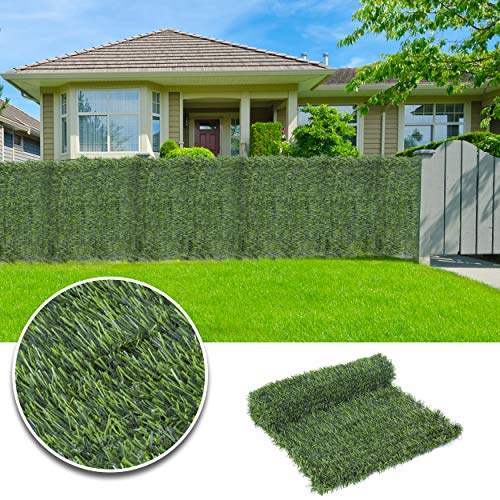 Extreme Artificial Conifer Leaf Hedge Roll Screening Privacy Screen Garden Fence 1m x 3m (1m x 3m)