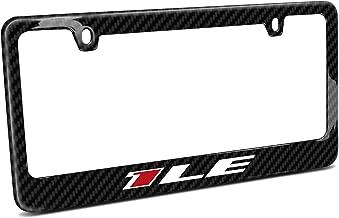 iPick Image - Chevrolet Real Carbon Fiber License Plate Frame - Camaro 1LE