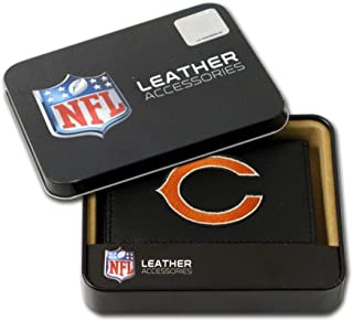 Hall of Fame Memorabilia Chicago Bears Embroidered Leather Tri-Fold Wallet