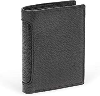Genuine Leather Wallet with RFID Protector - Small