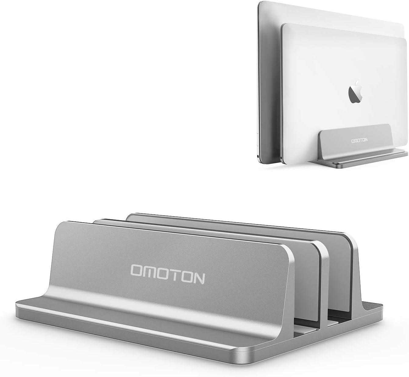 Soporte Vertical para laptops hasta 17.3 pulg. omoton gris