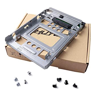 """HUYUN 2.5"""" SSD to 3.5"""" SATA Hard Disk Drive HDD Adapter Caddy Tray CAGE Hot Swap Plug 654540-001"""