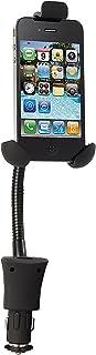 Callstel Autohandyhalter: Kfz Halterung mit USB Ladefunktion für Smartphones bis 4,5' (Handyhalterung mit Ladefunktion)