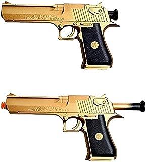 Ferbixo Golden Desert Eagle Toy Foam Dart Gun Toys