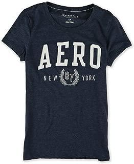 Aeropostale Womens New York 87 Embellished T-Shirt