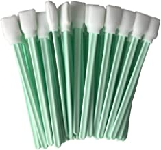 """100pc 5.1"""" Square Rectangle Foam Cleaning Swab Sticks for Solvent Format Inkjet Printer Roland Optical Equipment"""