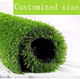 "ALTRUISTIC Artificial Grass 4ft x 7ft (28 Square Feet) Realistic Fake Grass Deluxe Turf Synthetic Thick Lawn Pet Turf, 1 3/8"" Height, Outdoor Décor, 10 Years Warranty, Customized"
