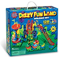 Learning Resources- Vertiginoso Set motorizado Dizzy Fun Land Gears, Color (LER9199)