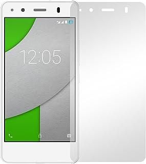 Slabo 2 x displayfolie för BQ Aquaris A4.5 skärmskyddsfolie tillbehör Crystal Clear KLAR – Made IN Germany