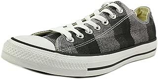 Mens Chuck Taylor All Star OX Plaid Fashion Sneaker Shoe