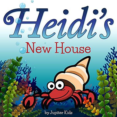 Heidi's New House audiobook cover art