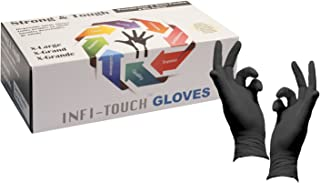 Infi-Touch Heavy Duty Nitrile Gloves, Strong & Tough, High Chemical Resistant,..