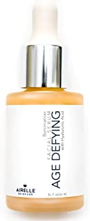 Age-Defying Facial Serum by Airelle | Anti-Aging, Helps Reduce Wrinkles, Fine Lines, Crows Feet | Dermatologist Recommended | Hyaluronic Acid, Berrimatrix | Natural Ingredients | .85 Fl Oz