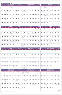 AT-A-GLANCE 2020 Yearly Wall Calendar, 24