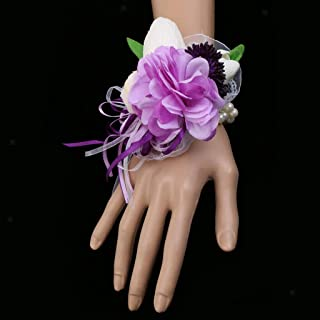 Bridal Wrist Corsage Groom Tulip Boutonniere Flowers For Wedding Decoration |item - Bridal Wrist Corsage|