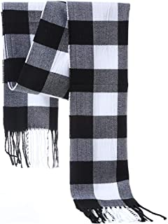 NYKKOLA Classic Cashmere Feel Unisex Winter Scarf,Ultra Soft Scarves in Rich Plaids For Men Women
