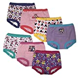 Disney Baby Girls Minnie Mouse 7pk Potty Training Pant, minnie3T, 3T