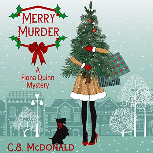 Merry Murder audiobook cover art