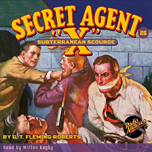 "Secret Agent ""X"" #26 audiobook cover art"