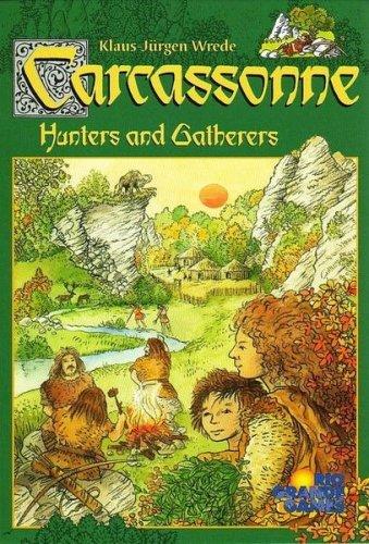 カルカソンヌ2 原始の営み (Carcassonne: Hunters And Gatherers) ボードゲーム [並行輸入品]