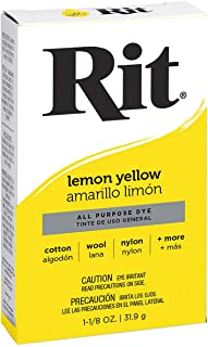 Rit Barwnik w proszku, cytrynowy żółty, 1 opakowanie
