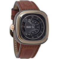 Sevenfriday M-Series Gunmetal Grey Dial Automatic Men's Leather Watch