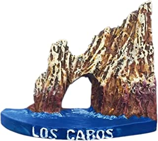 Los Cabos Mexico North America Fridge Magnet 3D Resin Handmade Craft Tourist Travel City Souvenir Collection Letter Refrigerator Sticker