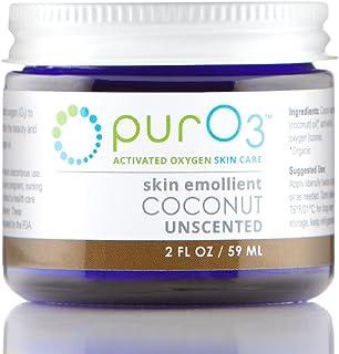 PurO3 Ozonated Coconut Oil - 2 oz - Glass Jars