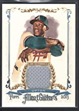BIGBOYD SPORTS CARDS Justin Upton 2013 Topps Allen & GINTER #AGFRJU Game Jersey Atlanta Braves SP