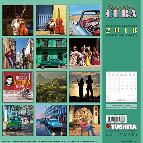 Buena Vista Cuba 2018: Kalender 2018 (Wonderful World)