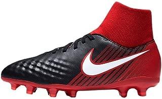 Nike - JR Magista Onda II DF FG - 917776061 - Color: Red-Black - Size: 2.5