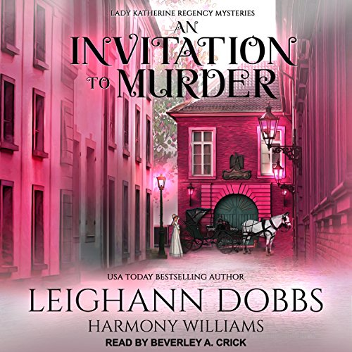 An Invitation to Murder audiobook cover art