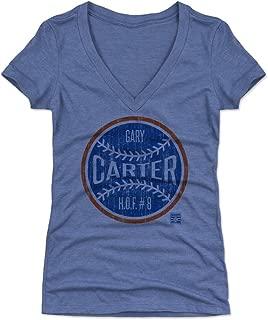 500 LEVEL Gary Carter Women's Shirt - Vintage New York Baseball Shirt for Women - Gary Carter Ball BO