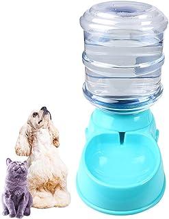 IHRKleid Wasserspender für Haustiere automatischer Haustier Zufuhr trinkender Brunnen Katze Hund Plastiknahrungsmittel Schüssel Haustier Wasserspender 3.5L