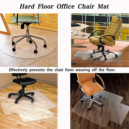 SHAREWIN Chair Mat for Hard Wood Floors - 36