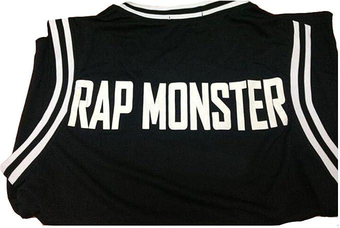 BTS baloncesto camiseta singlet Bangtan niños chaleco Jimin V ...
