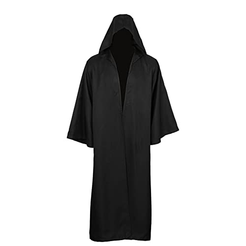 4d5783047c4 Golden service Adult Halloween Costume Tunic Hoodies Robe Cosplay Capes