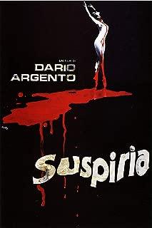 American Gift Services - Suspiria Dario Argento Vintage Horror Movie Poster - 24x36