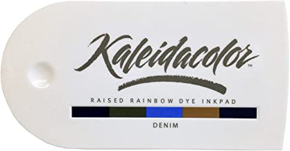 Imagine Crafts Tsukineko 5-Color Kaleidacolor Ink Pad, Denim