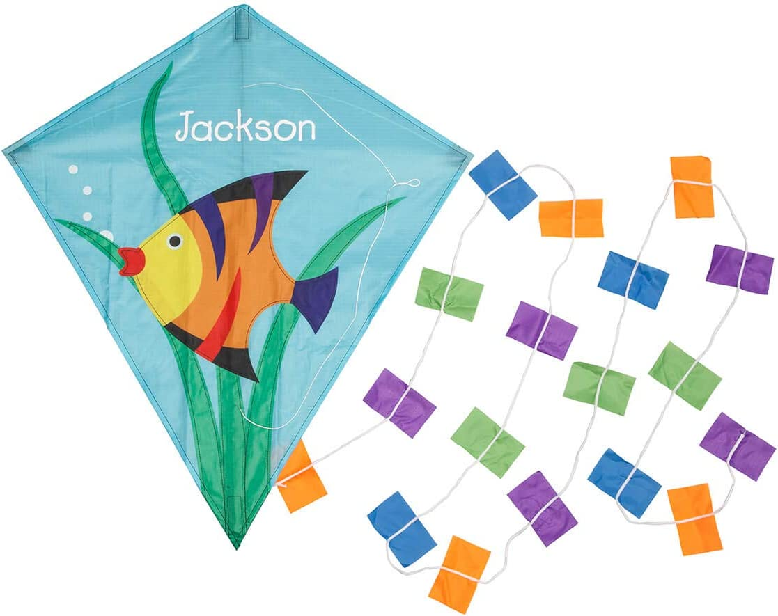 Miles Kimball Personalized Children's Fish Kite, Colorful K