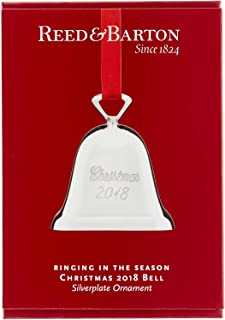 Reed & Barton Silver-Plated Bell Ornament