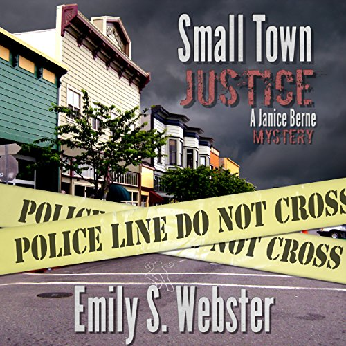 Small Town Justice audiobook cover art